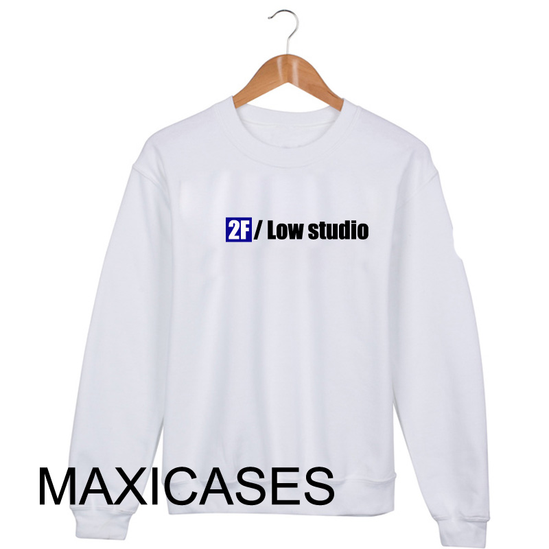 2F low studio Sweatshirt Sweater Unisex Adults size S to 2XL
