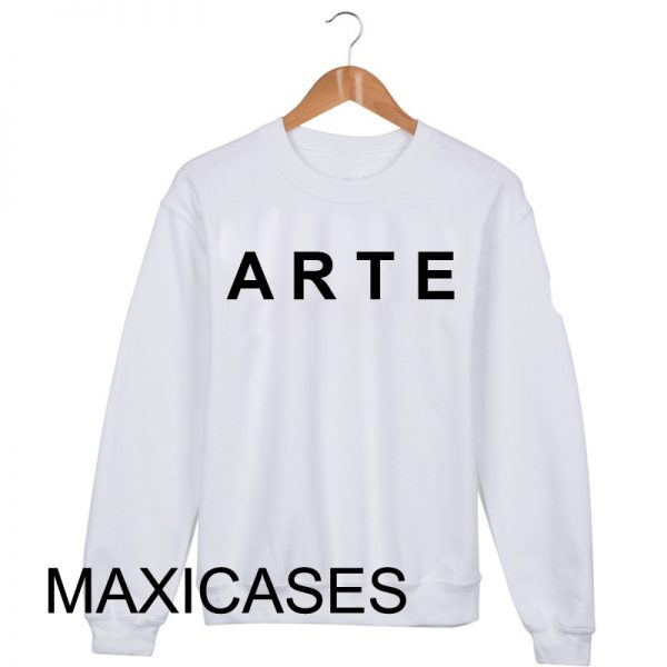 ARTE logo Sweatshirt Sweater Unisex Adults size S to 2XL