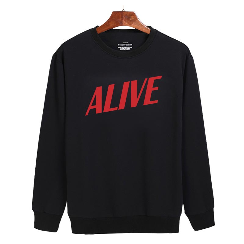 Alive Sweatshirt Sweater Unisex Adults size S to 2XL