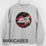 Arctic Monkeys floral Sweatshirt Sweater Unisex Adults size S to 2XL
