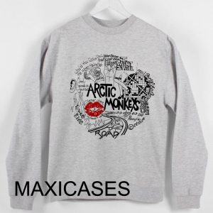 Arctic monkeys Lyrics Sweatshirt Sweater Unisex Adults size S to 2XL