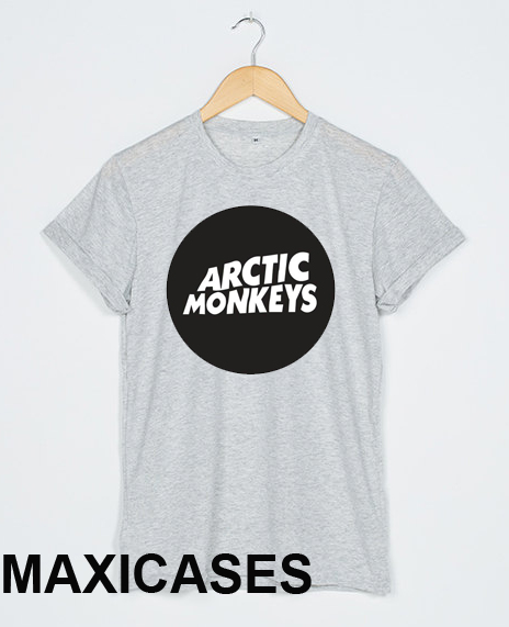 8f345f08c Arctic monkeys circle logo T-shirt Men Women and Youth