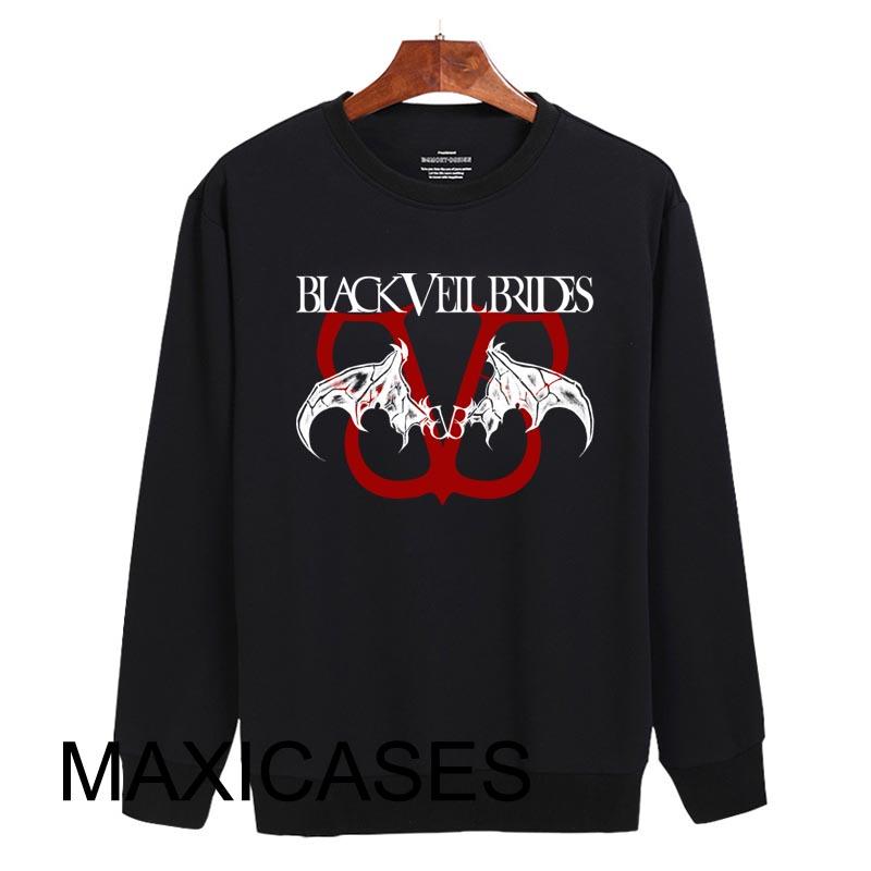 Black Veil Brides Sweatshirt Sweater Unisex Adults size S to 2XL