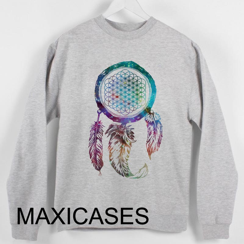 Bring Me The Horizon Dream Catcher Galaxy Sweatshirt Sweater Unisex Adults size S to 2XL