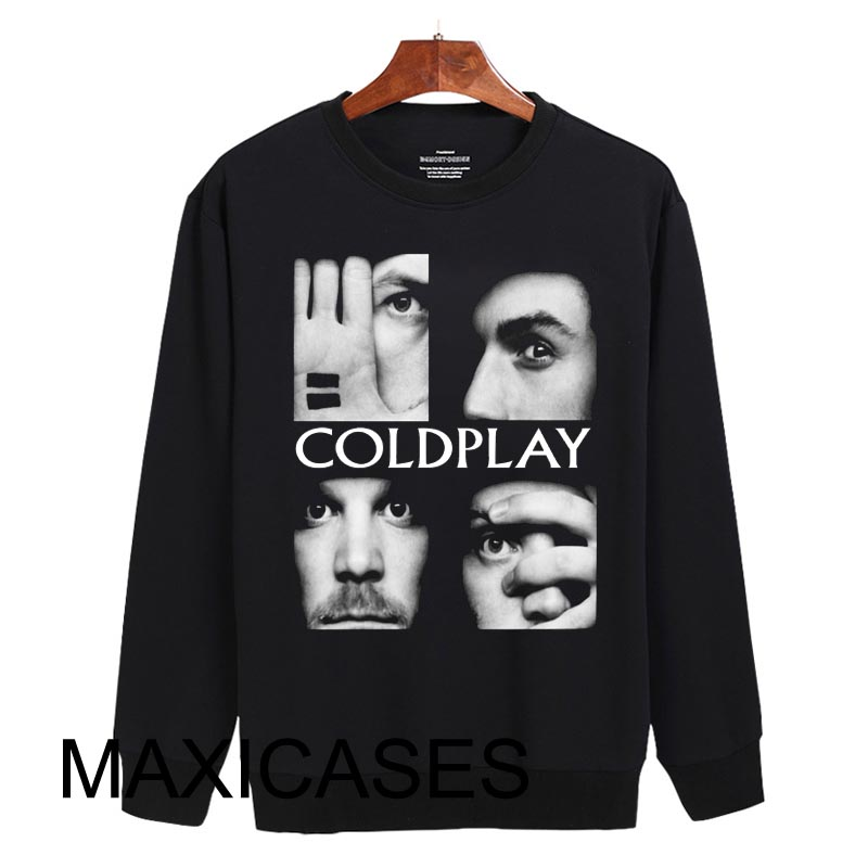 Coldplay Logo Sweatshirt Sweater Unisex Adults size S to 2XL
