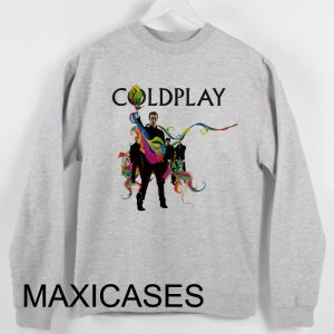 Coldplay Rock Band Sweatshirt Sweater Unisex Adults size S to 2XL