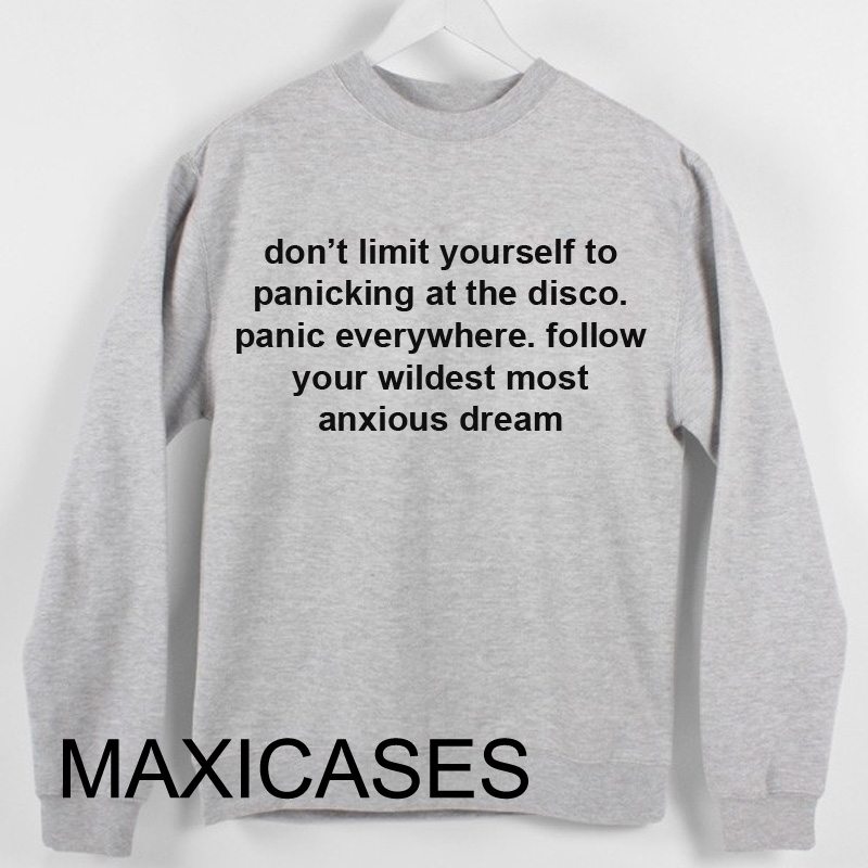 Don't limit yourself Sweatshirt Sweater Unisex Adults size S to 2XL