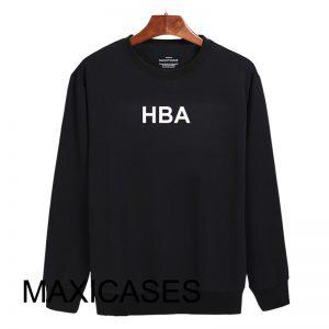 HBA logo Sweatshirt Sweater Unisex Adults size S to 2XL