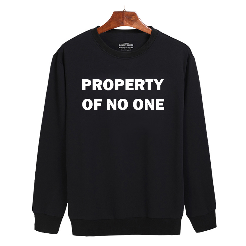 Property of no one Sweatshirt Sweater Unisex Adults size S to 2XL