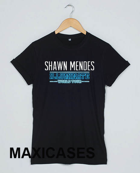 Shawn Mendes Illuminate World Tour Cheap Graphic T Shirts for Women, Men and Youth