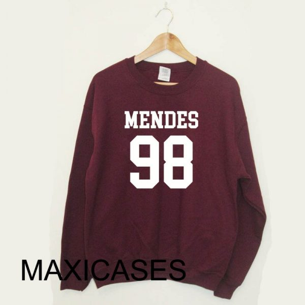 Shawn Mendes 98 Sweatshirt Sweater Unisex Adults size S to 2XL
