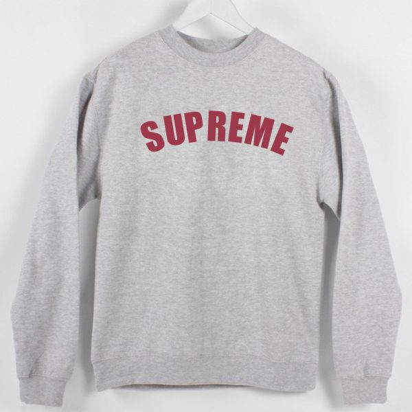 Supreme Sweatshirt Unisex Adults size S to 2XL