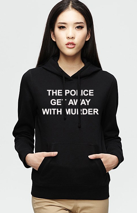 The police get away Hoodie Unisex Adult size S - 2XL