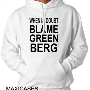 When in doubt Hoodie Unisex Adult size S - 2XL