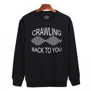 arctic monkeys, crawling back to you Sweatshirt Sweater Unisex Adults size S to 2XL
