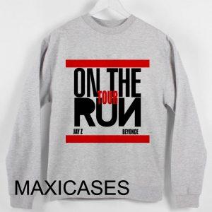 Beyonce jaz on the run tour Sweatshirt Sweater Unisex Adults size S to 2XL