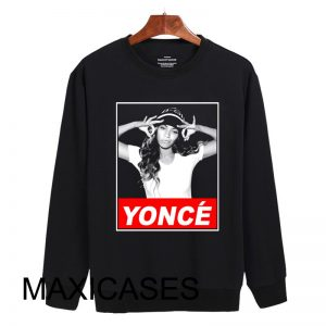 beyonce yonce obey style Sweatshirt Sweater Unisex Adults size S to 2XL