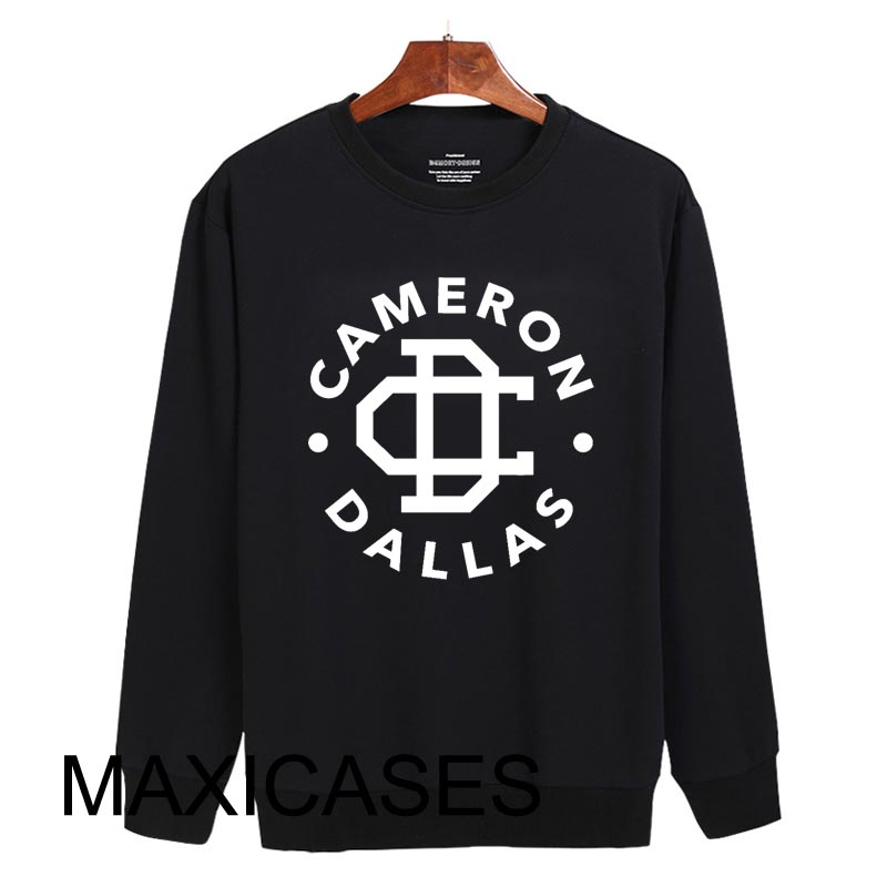 Cameron dallas logo Sweatshirt Sweater Unisex Adults size S to 2XL