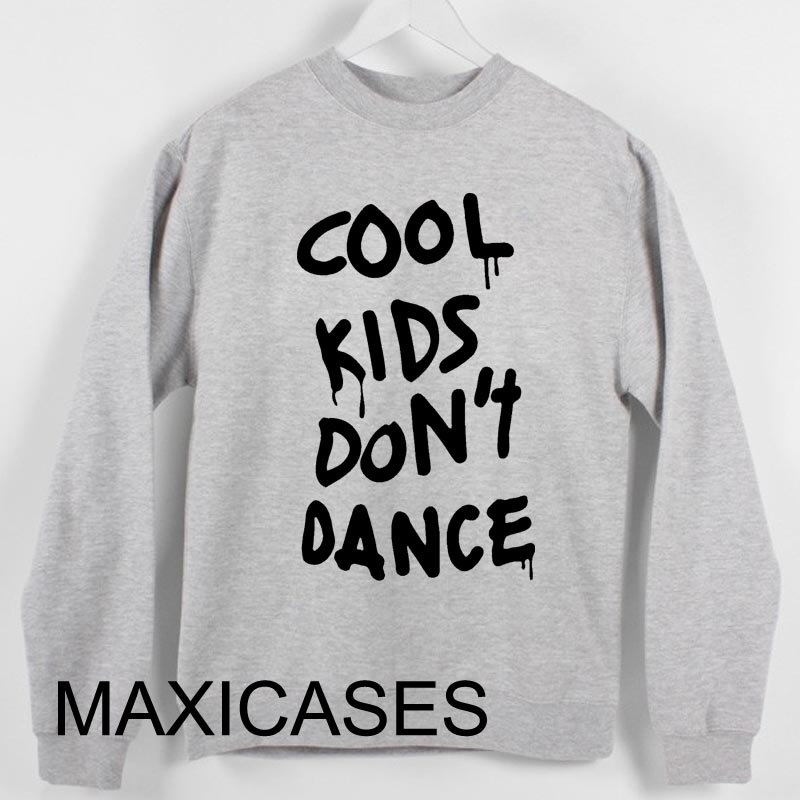 Cool Kids Don't Dance, Zayn Malik Sweatshirt Sweater Unisex Adults size S to 2XL