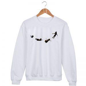 peter pan Sweatshirt Sweater Unisex Adults size S to 2XL