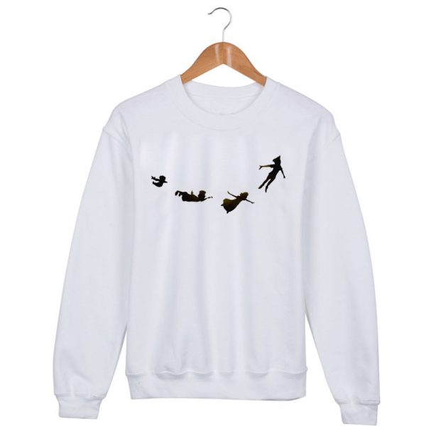 peter pan Sweatshirt Sweater Unisex Adults size S to 2XL