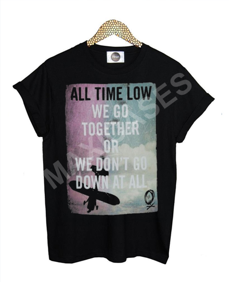 All time Low band T-shirt Men Women and Youth