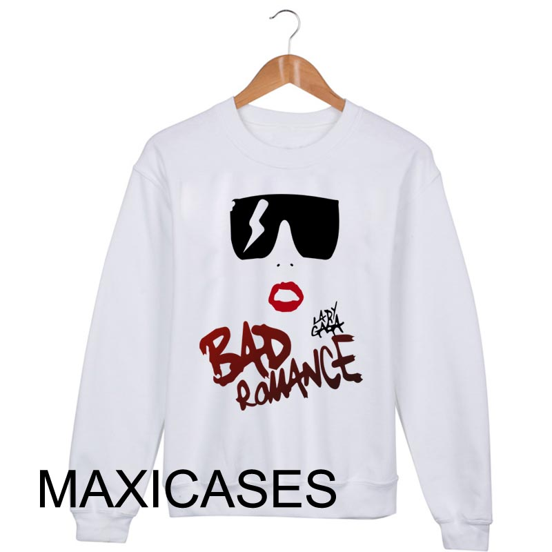 Lady Gaga bad romance Sweatshirt Sweater Unisex Adults size S to 2XL