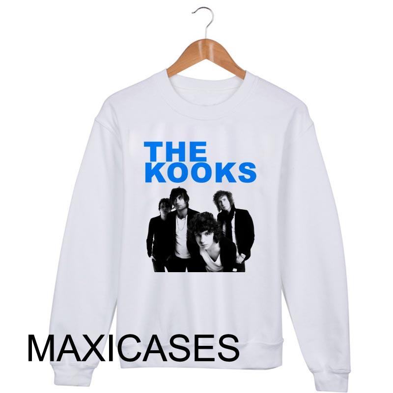 The Kooks Luke Pritchard Sweatshirt Sweater Unisex Adults size S to 2XL