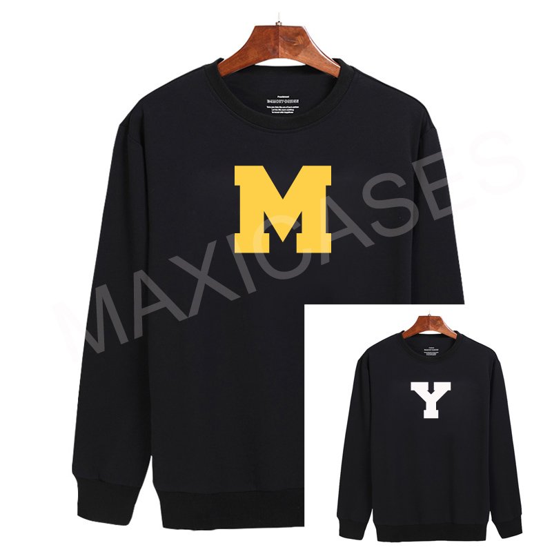 M Y couple Sweatshirt Sweater Unisex Adults size S to 2XL