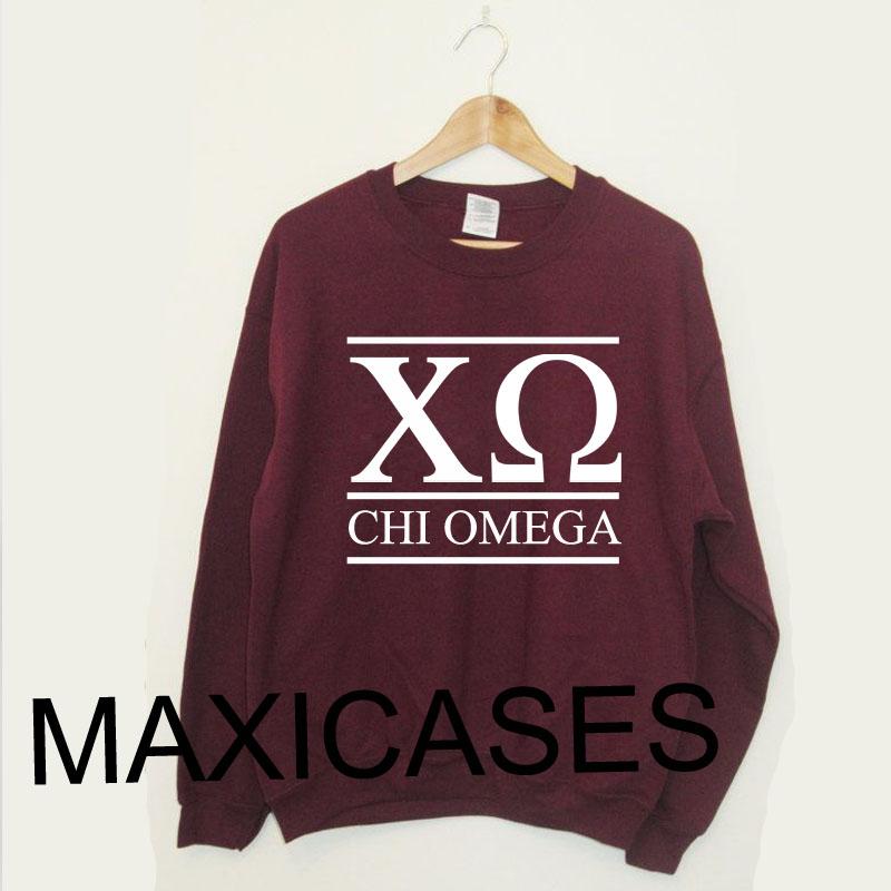 New Chi Omega Sweatshirt Sweater Unisex Adults size S to 2XL
