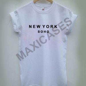 New york soho T-shirt Men Women and Youth