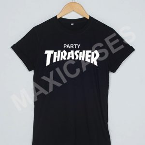 Party thrasher logo T-shirt Men Women and Youth
