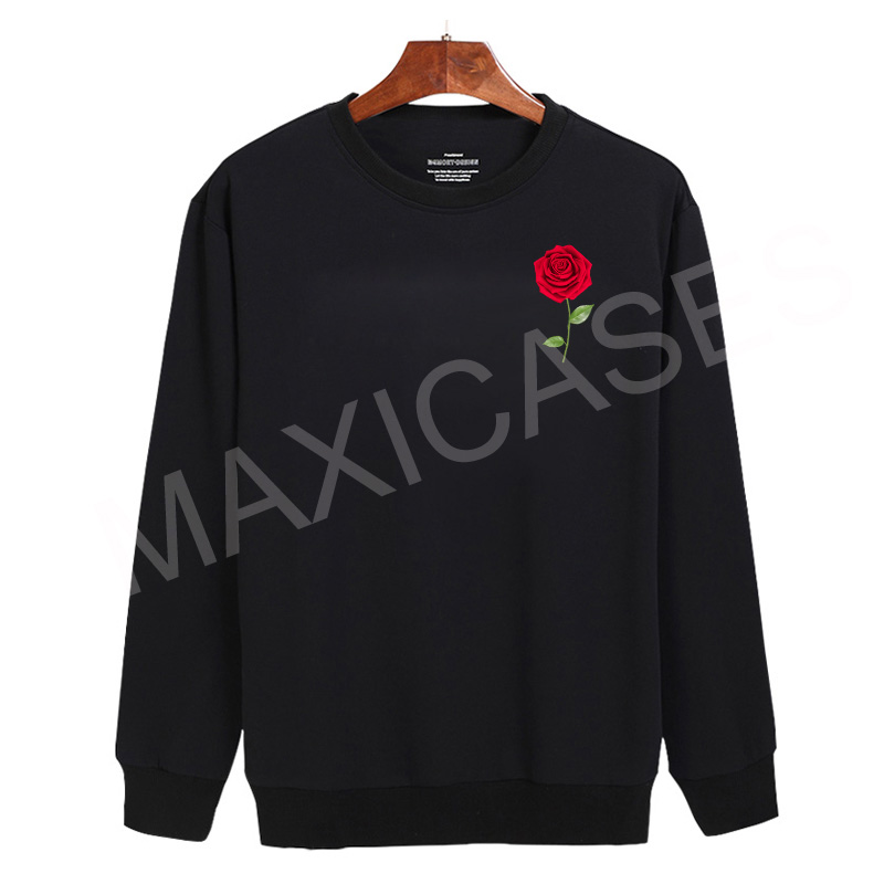 Rose flower Sweatshirt Sweater Unisex Adults size S to 2XL