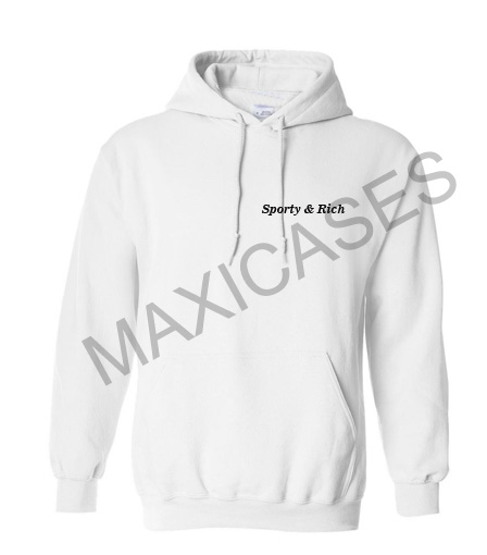 Sporty and rich Hoodie Unisex Adult size S - 2XL