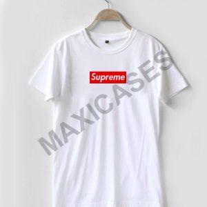 Supreme logo T-shirt Men Women and Youth
