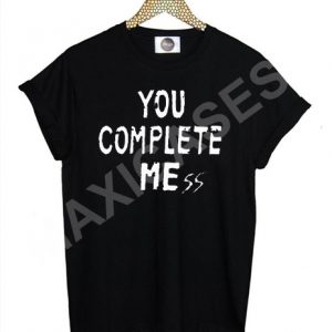 5 Seconds Of Summer You Complete Mess T-shirt Men Women and Youth