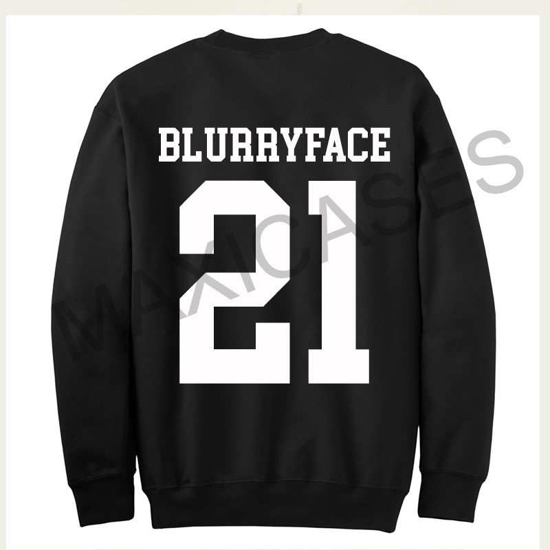 Blurryface 21 Sweatshirt Sweater Unisex Adults size S to 2XL