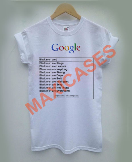 search black men are T-shirt Men Women and Youth