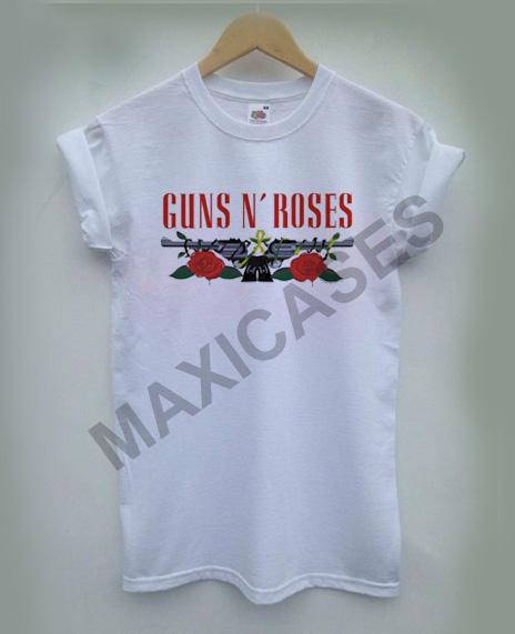 Guns N Roses logo T-shirt Men Women and Youth