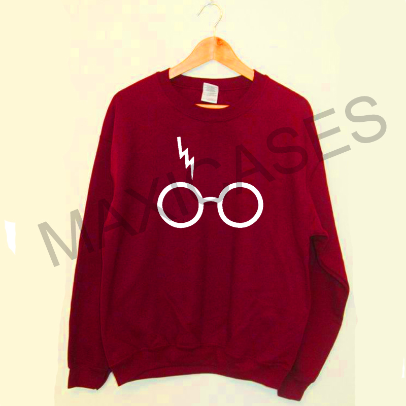 Harry potter glasses Sweatshirt Sweater Unisex Adults size S to 2XL
