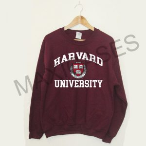 Harvard University Sweatshirt Size S to 3XL Unisex Adult