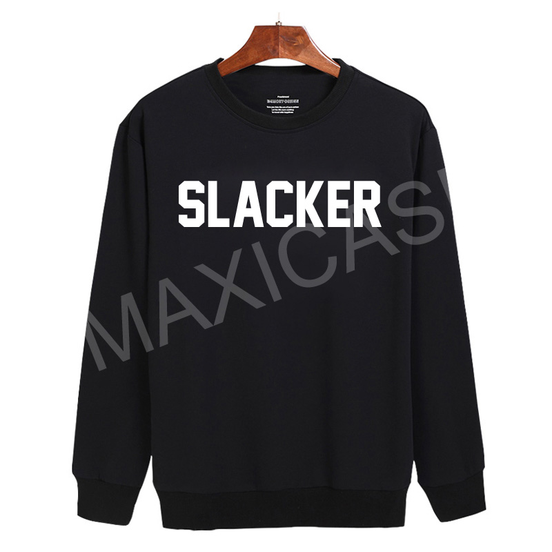 SLACKER Sweatshirt Sweater Unisex Adults size S to 2XL