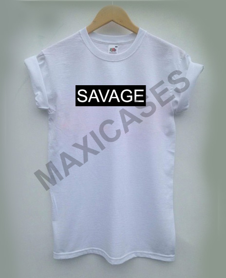e29f35eedda Savage logo T-shirt Men Women and Youth