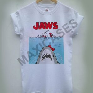 Hello Kitty Jaws Parody T-shirt Women, Men and Youth