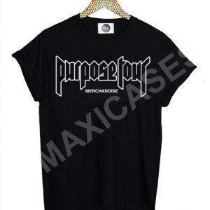 Justin bieber purpose tour T-shirt Men Women and Youth
