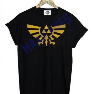 Triforce zelda T-shirt Men Women and Youth
