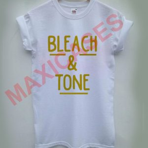 Bleach and tone T-shirt Men Women and Youth