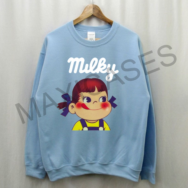 Fujiyo milky Sweatshirt Sweater Unisex Adults size S to 2XL