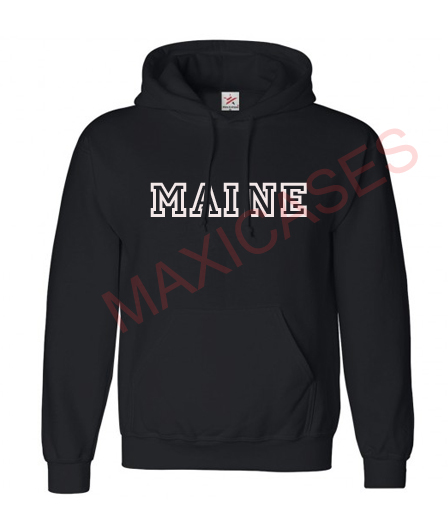 MAINE Hoodie Unisex Adult size S - 2XL