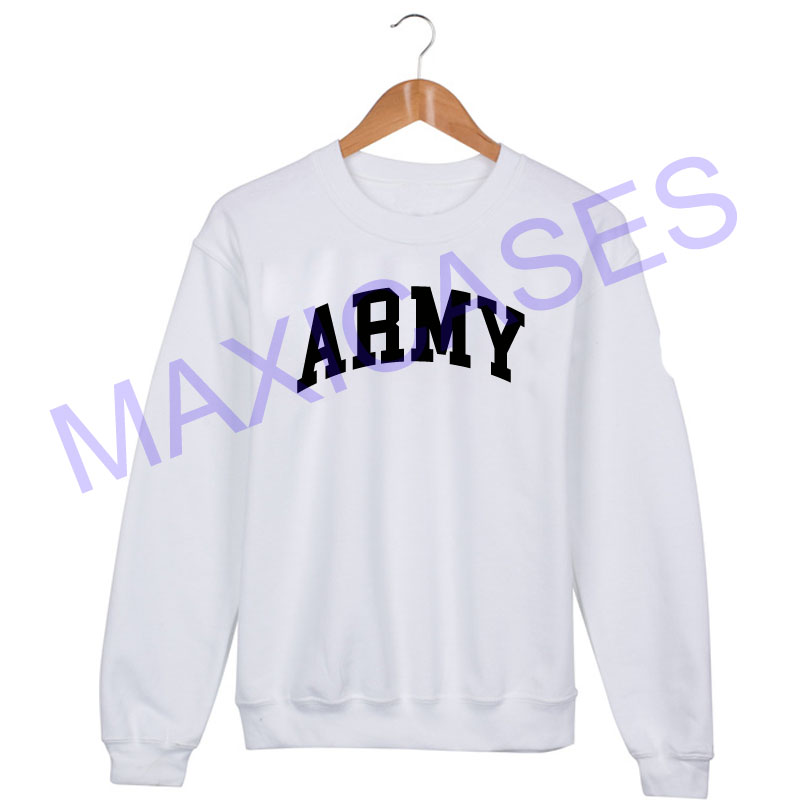 ARMY Sweatshirt Sweater Unisex Adults size S to 2XL